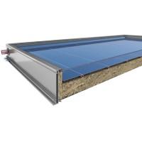 Ηλιακός Θερμοσίφωνας Calpak Mark 4 Glass 160/2.6H Επιλεκτικός Διπλής Ενέργειας