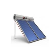Ηλιακός Θερμοσίφωνας Calpak Mark 4 Glass 200/4.2 Επιλεκτικός Τριπλής Ενέργειας TRIEN για σύνδεση Α/Θ