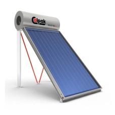 Ηλιακός Θερμοσίφωνας Calpak Mark 4 Glass 160/2.6 Επιλεκτικός Τριπλής Ενέργειας TRIEN για σύνδεση Α/Θ