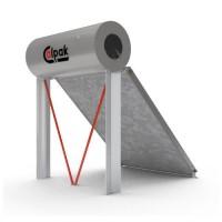 Ηλιακός Θερμοσίφωνας Calpak Mark 4 Glass 200/3 Επιλεκτικός Τριπλής Ενέργειας TRIEN για σύνδεση Α/Θ