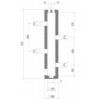 Υδραυλικός διαχωριστής CP 120 (DN 65) LOVATO 49017059