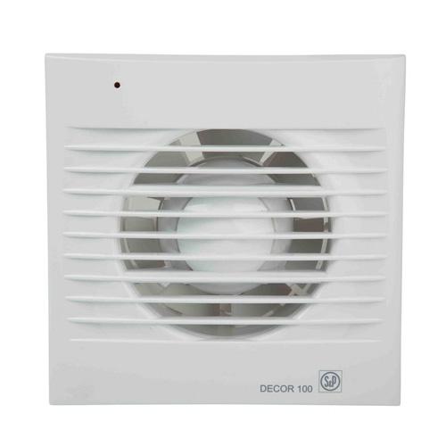 Εξαεριστήρας τοίχου - οροφής S&P DECOR 100 CZ - 5210000500