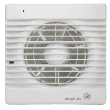 Εξαεριστήρας τοίχου - οροφής S&P DECOR 200 CR - 5210102900