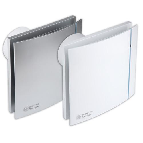 Εξαεριστήρας λουτρού S&P SILENT 100 CHZ DESIGN 3C - 5210603300