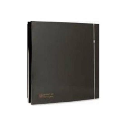 Εξαεριστήρας λουτρού S&P SILENT 200 CZ DESIGN 3C BLACK - 5210616700